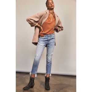 FREE PEOPLE | Good Time Relaxed Skinny jeans
